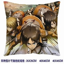 Attack on Titan double sides pillow 3743