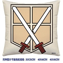 Attack on Titan pillow 3913