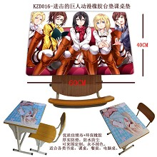 Attack on Titan Rubber table mat KZD016