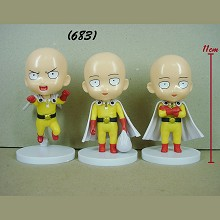 One Punch Man anime figures set(3pcs a set)