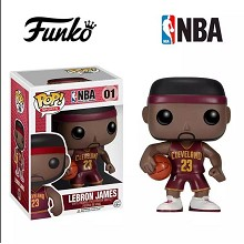 NBA star LeBron James figure
