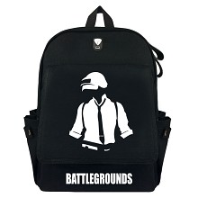 Playerunknown's Battlegrounds canvas backpack bag