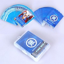 Gintama anime pokers playing cards
