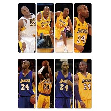 Kobe Bryant pvc bookmarks set(5set)