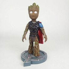 Guardians of the Galaxy groot cos Thor resin figure