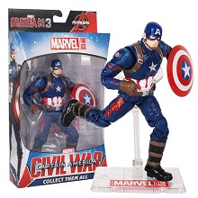 7inches The Avengers Civil War Captain America figure