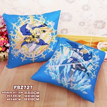 Sword Art Online Alicization anime two-sided pillow