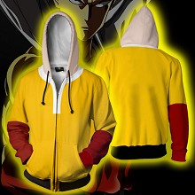 One Punch Man anime 3D printing hoodie sweater clo...
