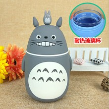 Totoro anime glass cup kettle