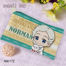 he Promised Neverland anime pen bag pencil bag