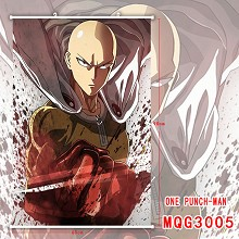 One Punch Man anime wall scroll