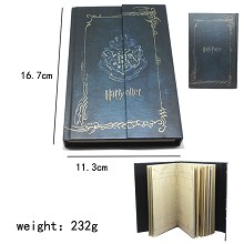 Harry Potter movie notebook