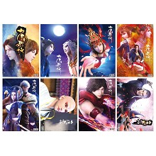 Juvenile songs anime posters set(8pcs a set)