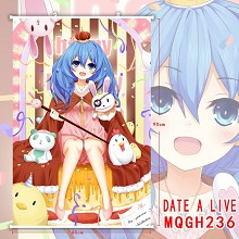Date A Live anime wall scroll