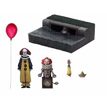 NECA It 2017 movie figures a set