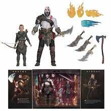 NECA 2018 God of War 4 game figures a set