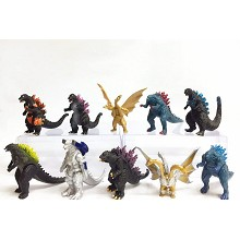 Godzilla figures set(10pcs a set)