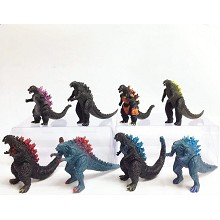 Godzilla figures set(8pcs a set)