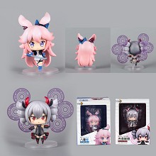 MmiHoYo figures set(2pcs a set)