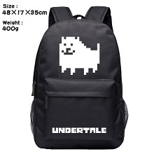 Undertale game backpack bag