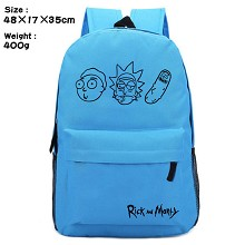 Rick and Morty anime backpack bag