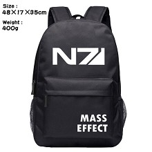 Mass Effect game backpack bag