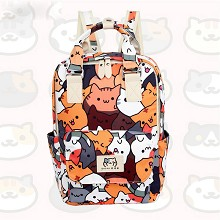 Neko Atsume game backpack bag