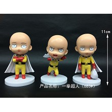 One Punch Man anime figues set(3pcs a set)