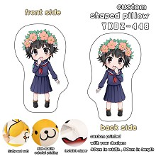 Toaru Kagaku no Railgun anime custom shaped pillow