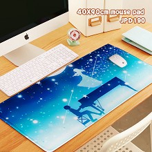 Your Lie in April anime big mouse pad