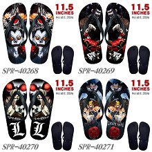 Death Note anime flip flops shoes slippers a pair