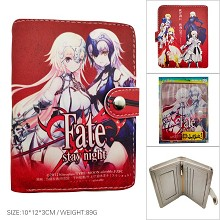 Fate stay night anime wallet