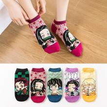 Demon Slayer anime cotton socks a pair