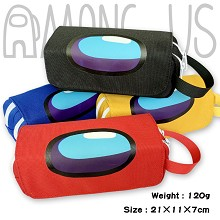 Among Us game waterproof pen bag pencil bag