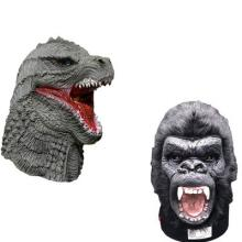 Godzilla vs Kong movie cosplay latex mask