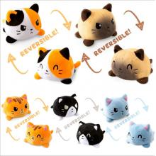 6inches Reversible Cat anime plush doll