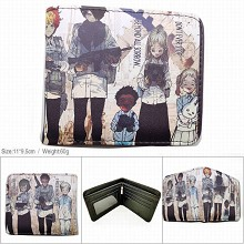 The Promised Neverland anime wallet
