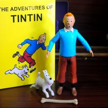 The Adventures Of Tintin anime figure