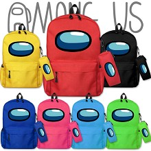 Among Us game backpack bag