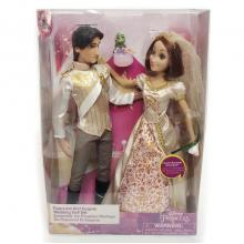 Rapunzel And Eugene Wedding Doll Set figure